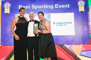 Gaelforce Dublin Win at The Event Industry Awards 2018
