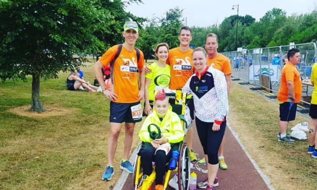 Lucan's Very Own Team James Run for Barretstown