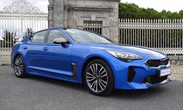 Kia's Stunning 'Stinger' GT-Line 5-Door Coupe