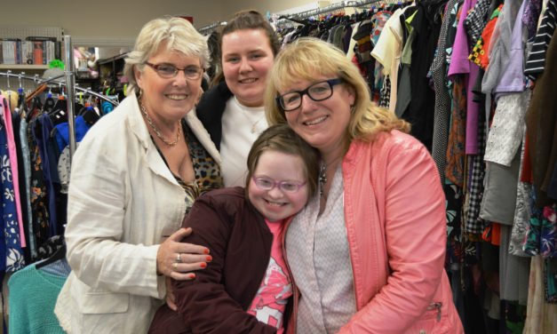 Uninest Students Donate to Clondalkin Charity Shop