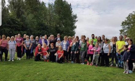Clondalkin Slimming World Groups Walk for Irish Cancer Society