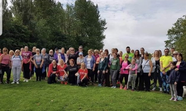 Clondalkin Slimming World Groups Walk for Irish Cancer Society