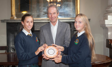 Coláiste Bríde receives Cycle Against Suicide Ambassador School Award
