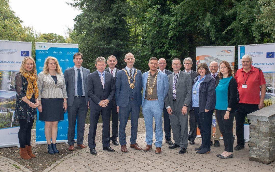 Dublin Urban Rivers LIFE launch