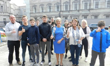 Lucan Education Centre visit the Corridors of Power!