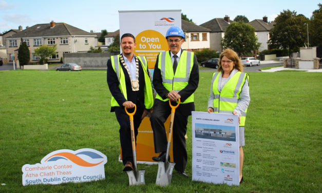 North Clondalkin Library First Sod Turned