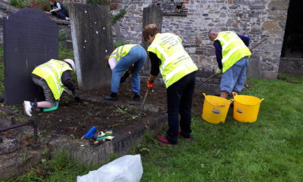 Lucan Tidy Towns Committee wins Bronze two years in a row