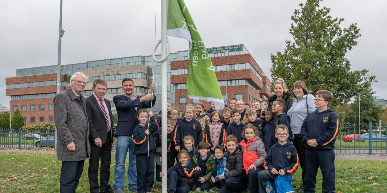 Raising of Green Flag in Sean Walsh Park and Launch of Tree Trail