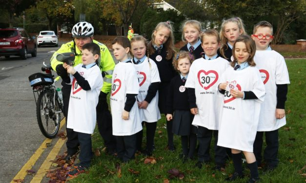 Knocklyon Pupils Promote 30 km/h Speed Limit