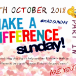 Clondalkin Parish Church MAD (Make A Difference) Sunday 28th Oct