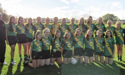 Thomas Davis U14 Girls Win Championship
