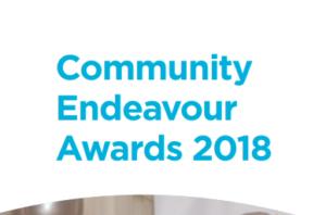 community endeavour awards sdcc
