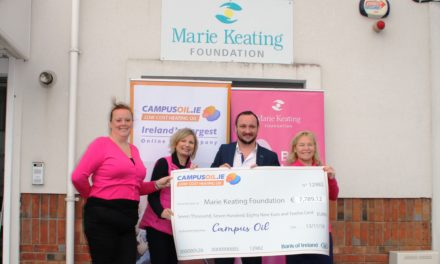 Campus Oil Raised Funds for MKF