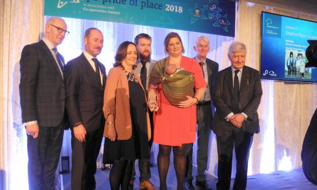 Muintir Chrónáin– Áras Chrónáin win at Pride of Place Awards 2018