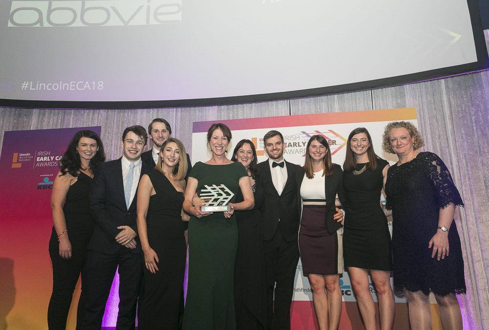 Abbvie Awarded Early Career – Best Organisation Learning and Development