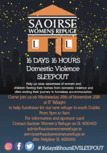 Saoirse-Sleep-Out-Tallaght