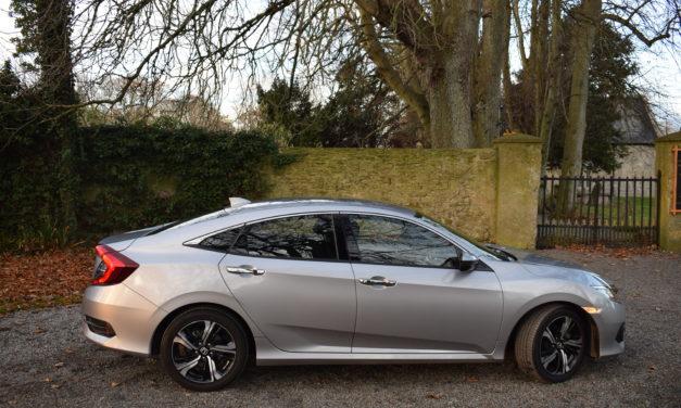 Honda's Spacious New Civic Four-Door Sedan