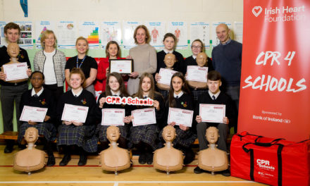 Deansrath Community College its Special Recognition Award in CPR Training