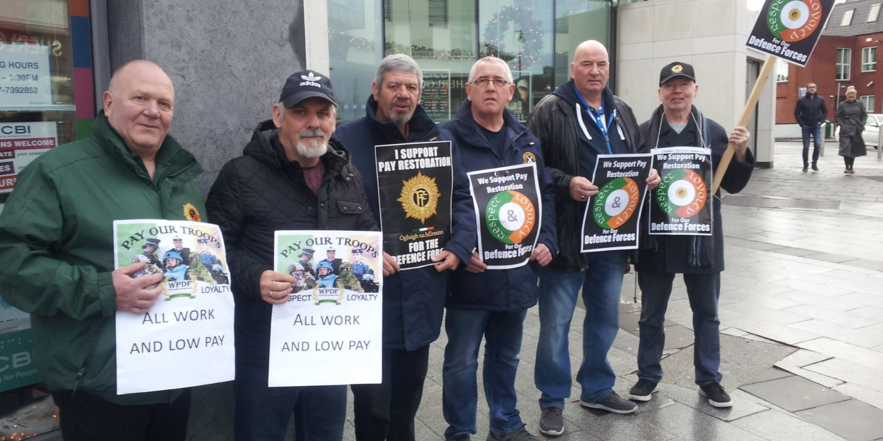 Highlighting Pay And Conditions in The Defence Forces