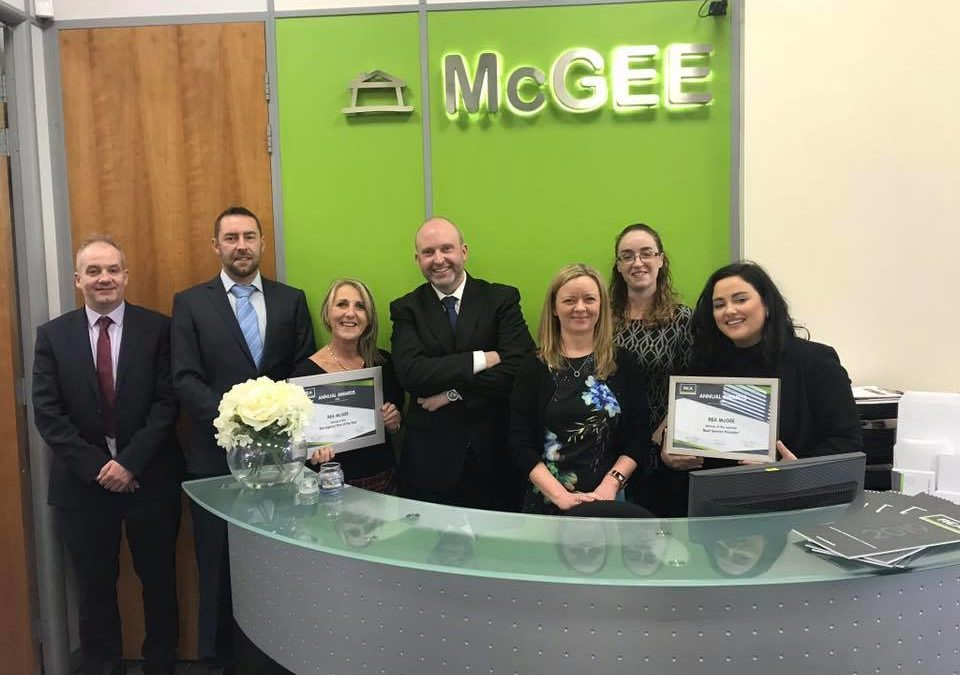 REA McGee Receive Two Awards