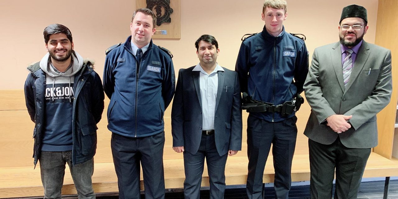 AMYA visits Nursing Homes and Gardaí Stations