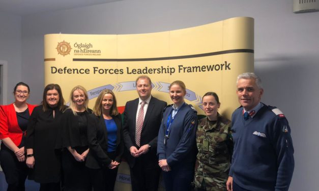 Air Corps Support Hailed in 2018