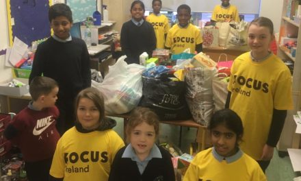 St. Mary's N.S. Saggart Food Drive