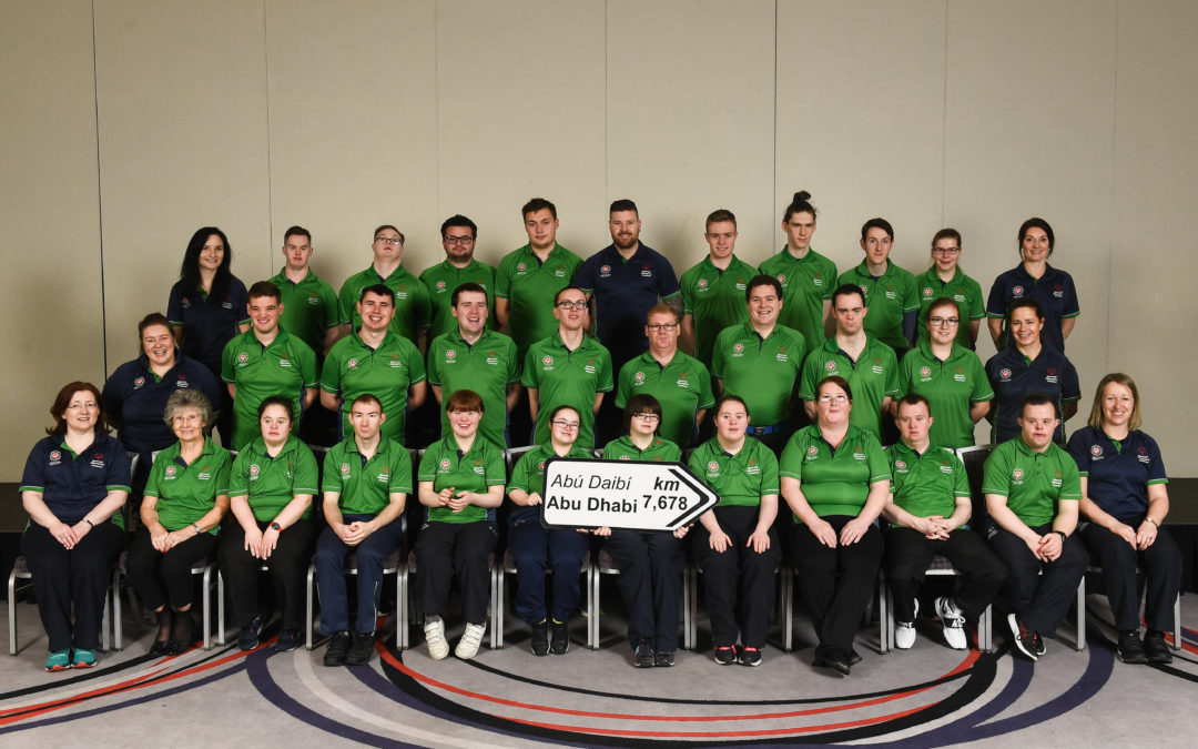 Local athletes to compete for Team Ireland at the2019 Special Olympics World Games in Abu Dhabi.