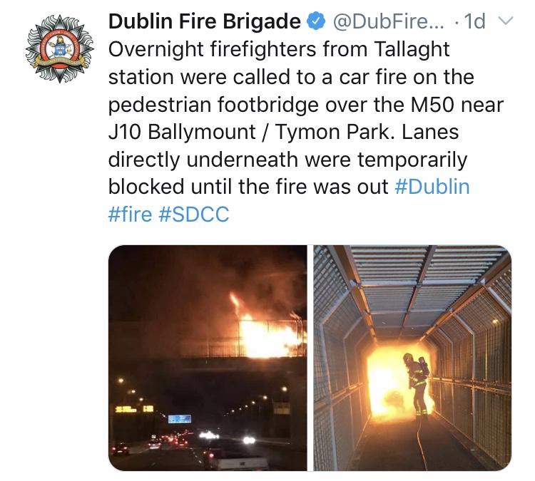 DFB Twitter Tallaght Fire