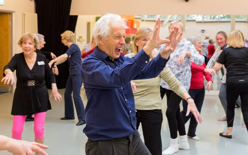 Dance is Number 1 for Aging Well Dublin