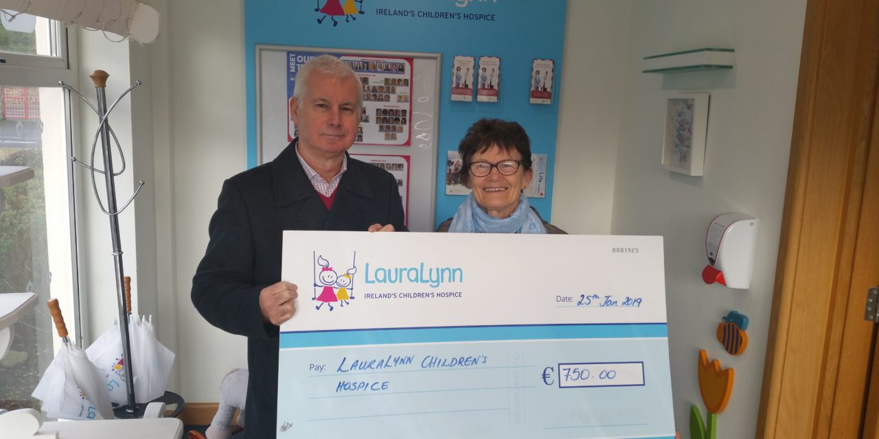 Local Lady Fundraising For Laura Lynn