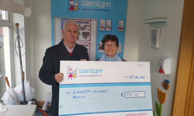 Local Lady Fundraising For Laura Lynn
