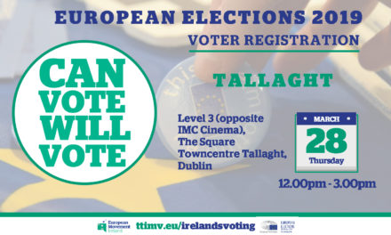 Tallaght Voter Registration 28th March 2019