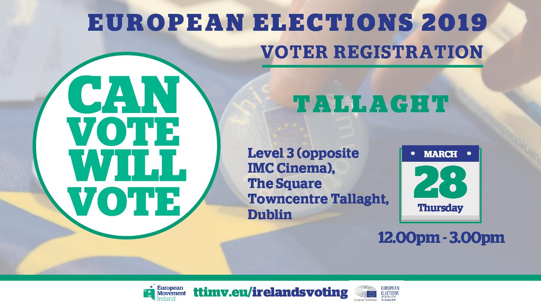 EUROPEAN ELECTIONS 2019 VOTER REGISTRATION