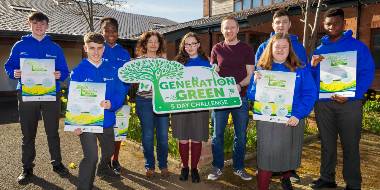 Collinstown Park Community College takes part in Energy Efficiency Challenge