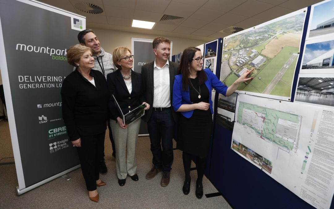 Doherty Tours Mountpark Logistics €80m Site