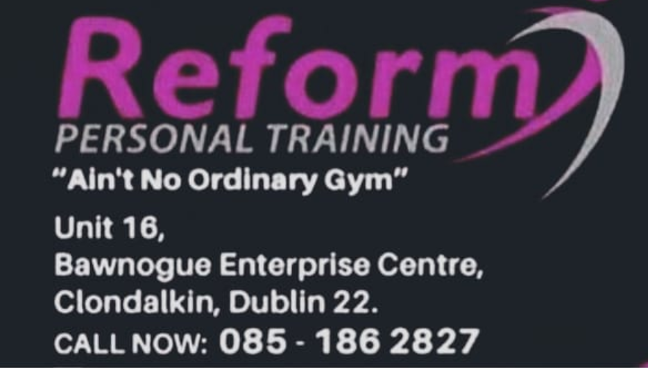 Win with Newsgroup and Reform Personal Training Clondalkin