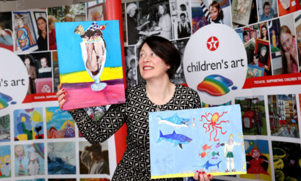 CHAPELIZOD STUDENTS WIN TOP PRIZES IN TEXACO ART COMPETITION
