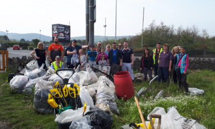 Dodder Valley Litter Mugs Cleaned Up On Good Friday