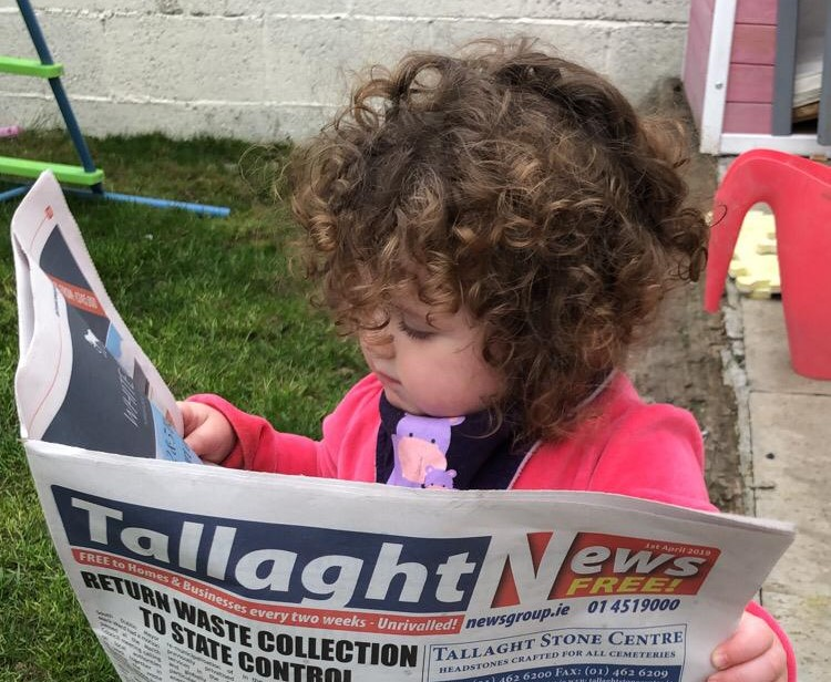 Eva Catching Up On The Latest Tallaght News