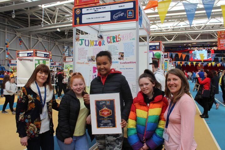 Junior Girls Peer education Project Tallaght Foroige