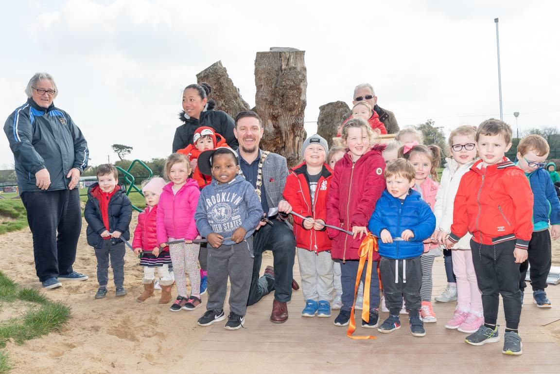 Renovated Playground At Griffeen Valley Park