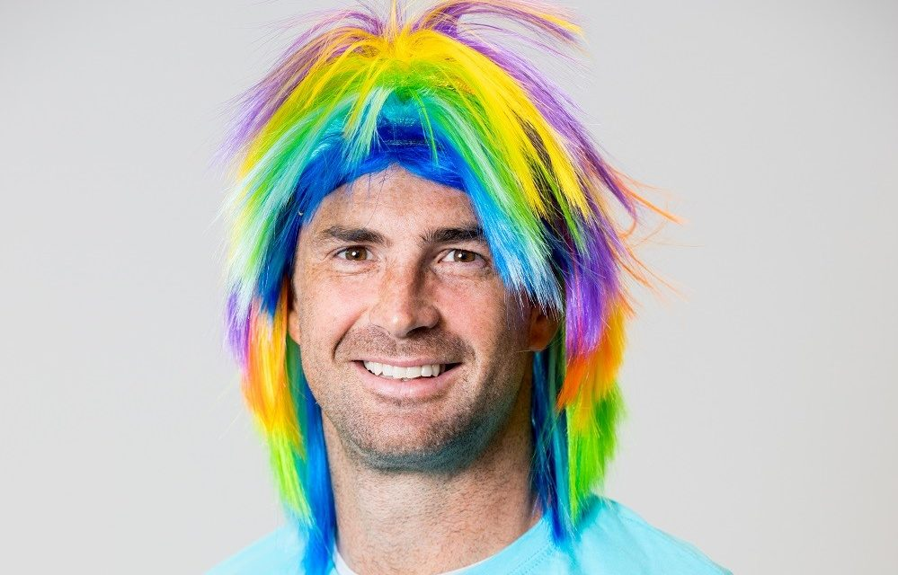 Rob Kearney Face of Crazy Hair Day