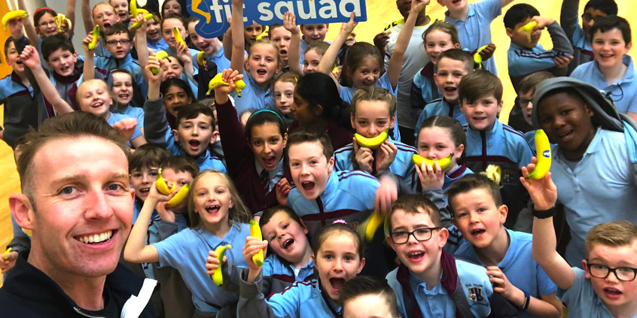LUCAN PUPILS HEAR FITNESS MESSAGE