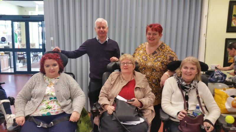 Sean Crowe CRC Firhouse Visit