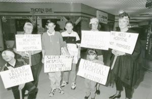 Tallaght Hospital Protest 1995
