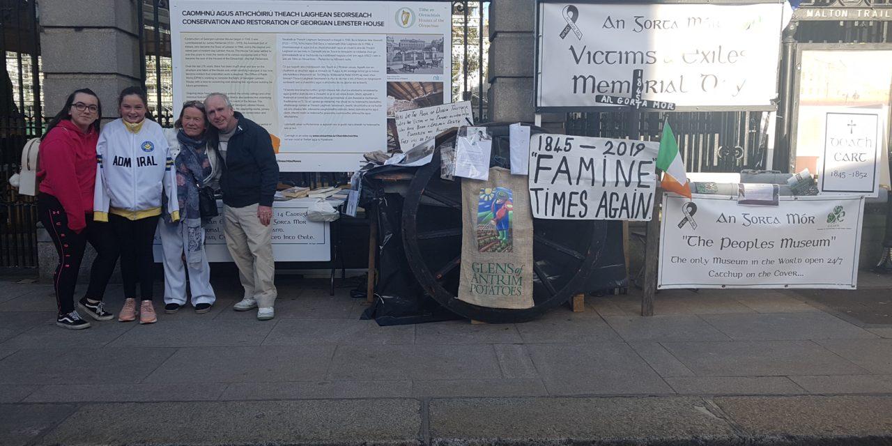 Recent CCIFV Protest in Dublin
