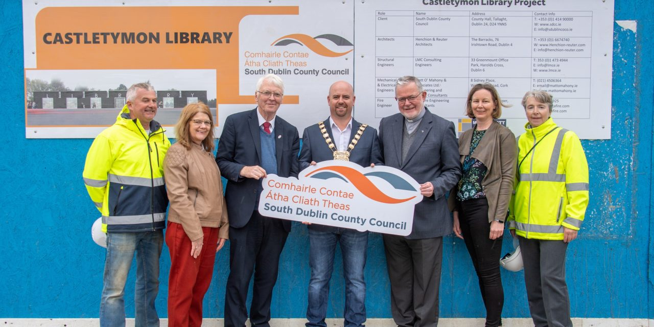 Works on Castletymon Library Are Underway
