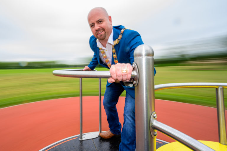Playground Bancroft Park Tallaght Officially Opens