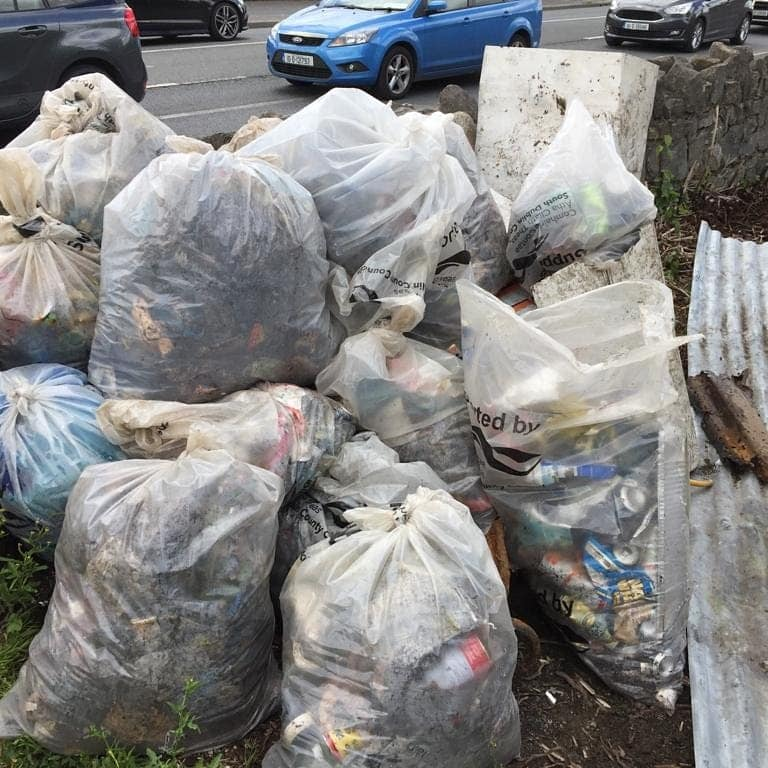 Dodder Valley Litter Mugs 11.05.19 Clean Up